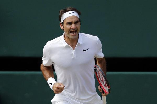 Roger Federer sa postaral o fantastický zvrat