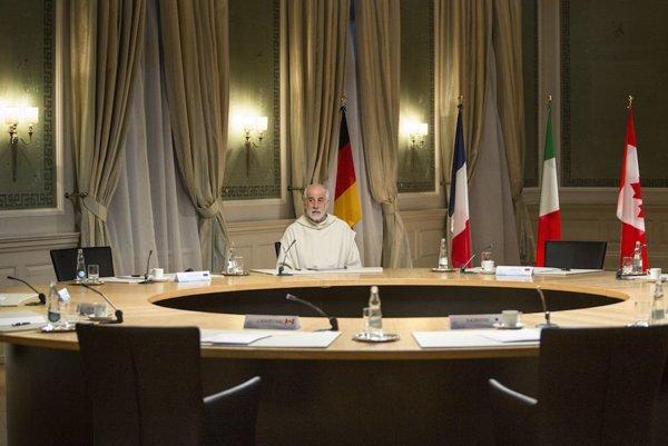 Toni Servillo v talianskom filme spovede.
