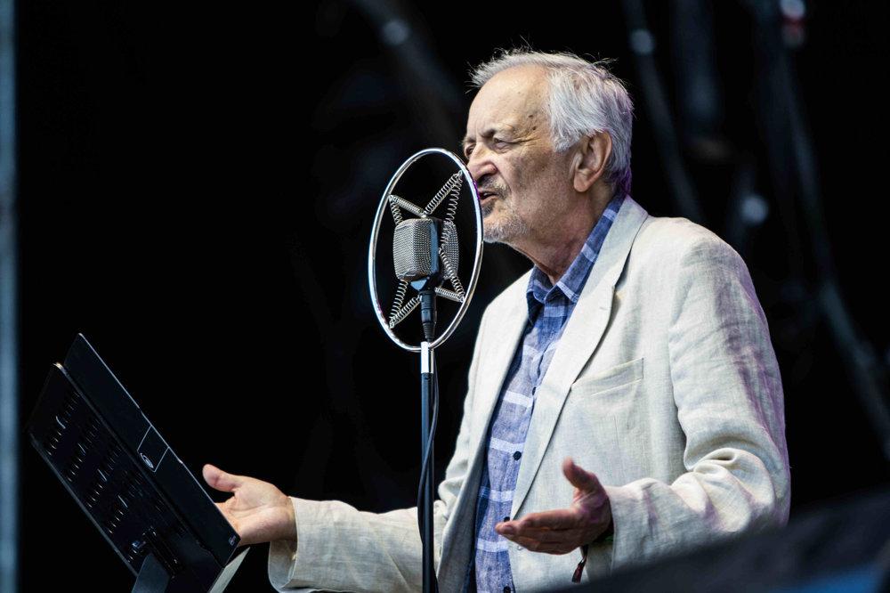 Milan Lasica a Bratislava hot serenadres otvárací koncert na Pohode