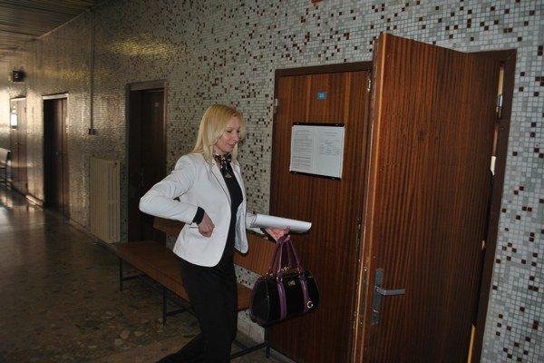 Mária Kaľavská. Na košickom súde neuspela.