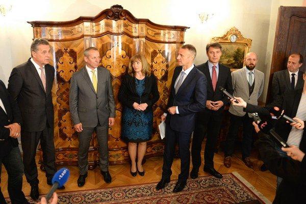 Zo stretnutia primátorov K8 v Košiciach.