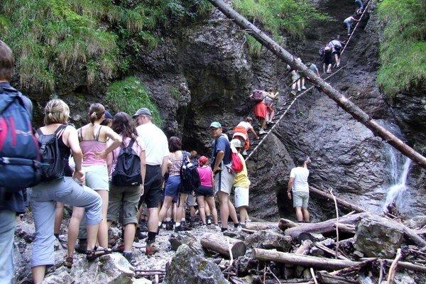 Slovenský raj láka každý rok tisíce návštevníkov.