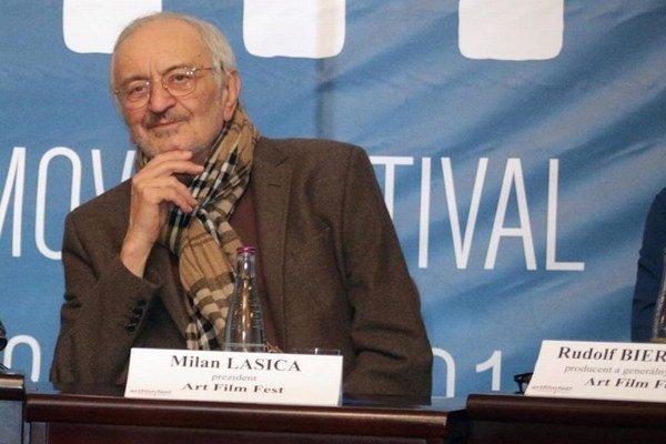 Prezident festivalu. Milan Lasica filmový sviatok otvorí osobne.
