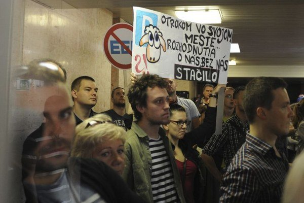 Protesty časti Košičanov nepomohli.