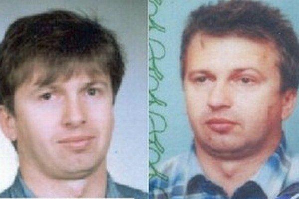 František Matik alias Fero Braník. Matik na snímke Interpolu (vľavo) a na falošnom občianskom preukaze.