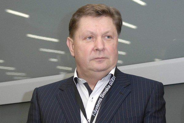 Predseda KSK Zdenko Trebuľa.