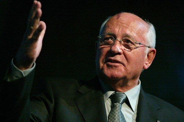 Michail Gorbačov. Posledný sovietsky prezident by sa mal stať čestným občanom Košíc.