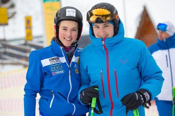 Nová slalomárska hviezda skondičným trénerom. Petra Vhlová napreduje, čo môže tešiť aj Šimona Klimčíka.