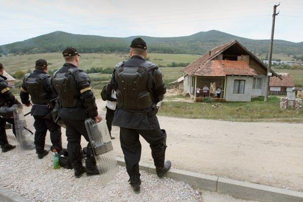 Zásah policajtov v Moldave bol podľa inšpekcie v poriadku.