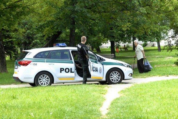Na Terase sa často lúpilo, polícia obchádza aj parky.