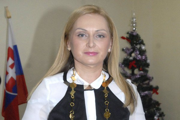 Starostka Lenka Kovačevičová.