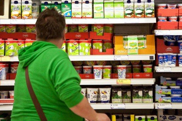 Zoznam potravín, na ktoré bude platiť nižšia DPH, sa ešte pripravuje.
