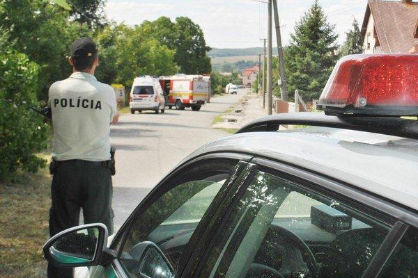 Bombový poplach. Podozrivá igelitka si podľa polície vyžadovala osobitný prístup.