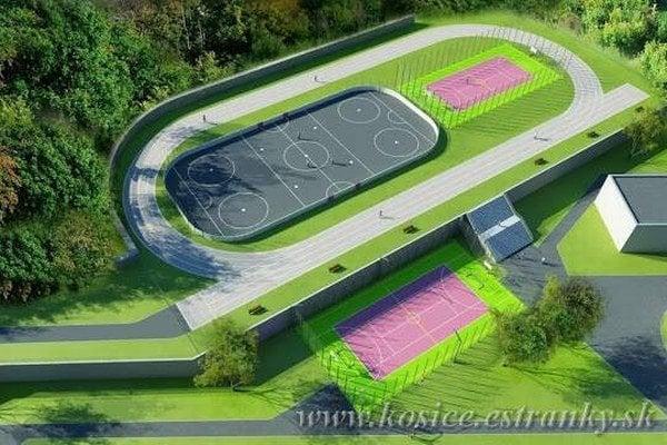Športový komplex na Novomeského.