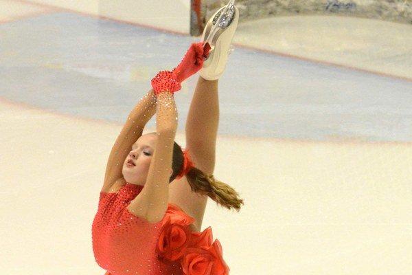 Mária Sofia Pucherová. Vychádzajúca krasokorčuliarska hviezdička.