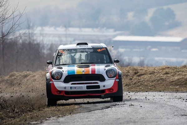 Bérešov MINI Cooper WRC. Sezónu s ním odštartuje v Egri.