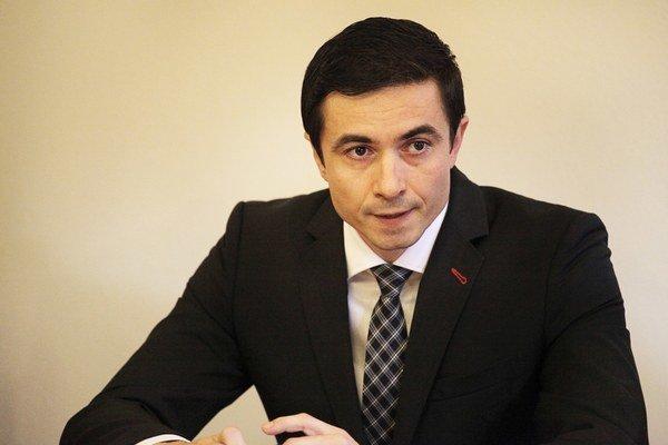 Štátny tajomník ministerstva financií Radko Kuruc.