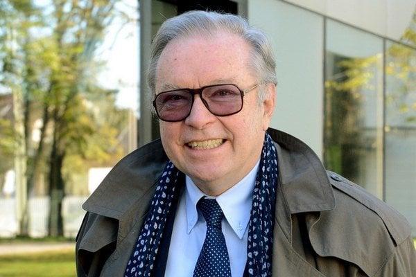 Poľský scenárista a režisér Krzysztof Zanussi.