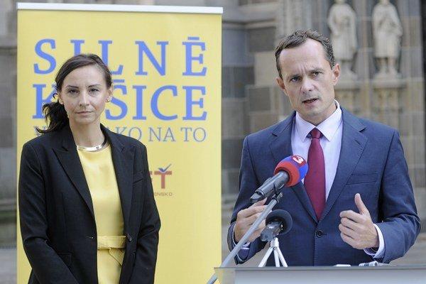 Alena Bašistová a Radoslav Procházka.