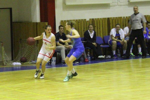 Jana Kováčová. Jedna z najskúsenejších hráčok Cassovie.