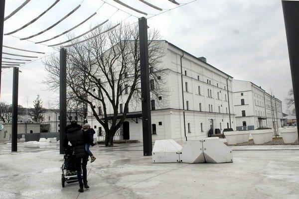 Kulturpark. Bývalé kasárne získali dve ocenenia, ašpirujú na tretie.