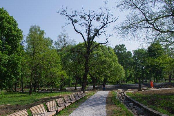 Najznámejší košický park. Navrhujú ho vyradiť spomedzi lokálnych biocentier.