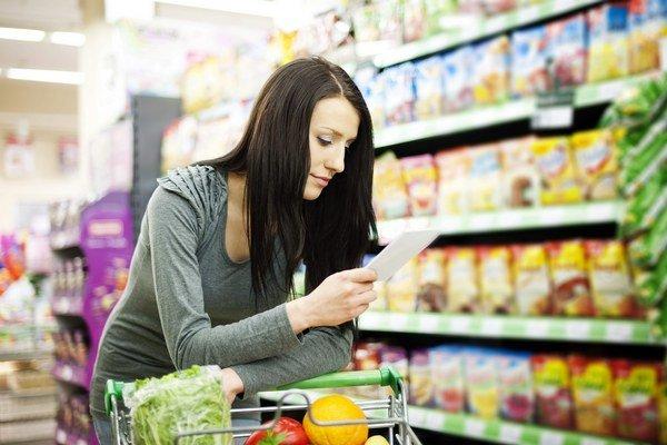 Nakupovanie. Do obchodu choďte s pripraveným zoznamom. Nekupujte nepotrebný zľavnený tovar.
