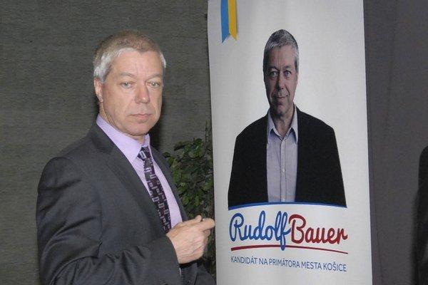 Rudolf Bauer. Starosta Západu.