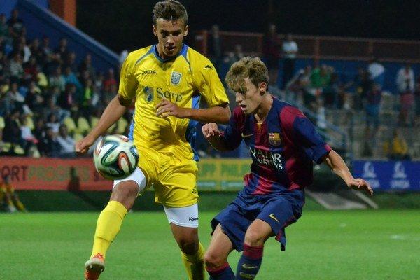 Na favorita nestačili. Michalovce podľahli Barcelone 1:3.