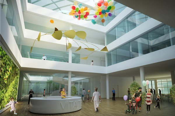 Nový pavilón. Takto by mala vyzerať v roku 2018 michalovská nemocnica