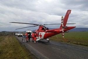 Záchranári leteli na pomoc.