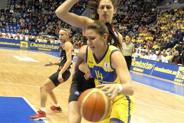 Dnes v Steel Aréne. Košické basketbalistky sa spoliehajú na prajné publikum.