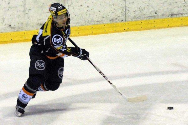 Gabriel Spilar. V B. Bystrici dal gól a na ďalší prihral.