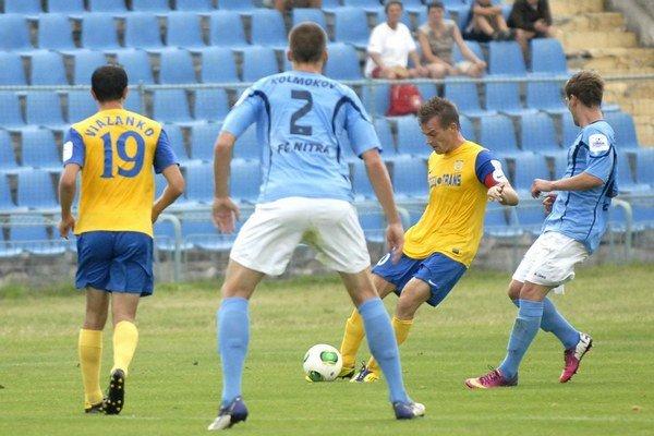 Júlový zápas v Čermeli. Naposledy tu Nitra prehrala 2:4.
