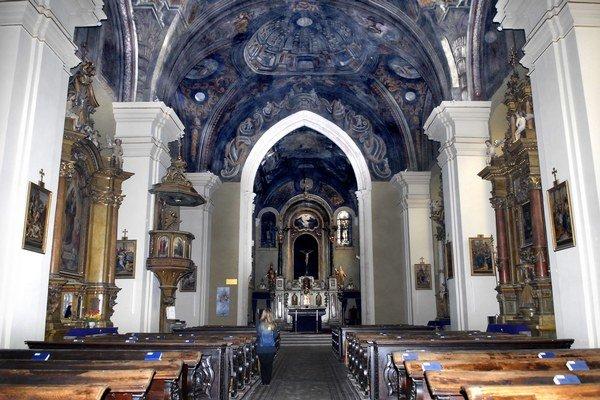 Vynovený, a predsa historický. Vymaľovaný Dominikánsky kostol.