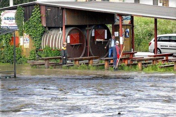 Súdky mali v minulosti niekoľkokrát problém s povodňami.