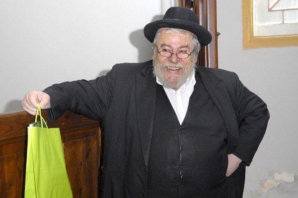 Karol E. Sidon. Charizmatický vrchný pražský a zemský rabín netajil, že má Košice veľmi rád