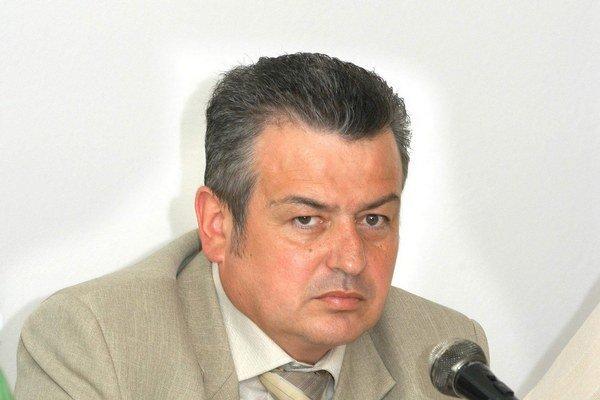 Ladislav Lumtzer. Ako starosta v roku 2006. Dnes je obchodníkom s elektrinou.