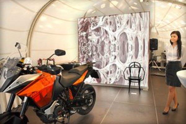 Pavilón už otvorili. Ponúka výstavu rakúskeho dizajnu.