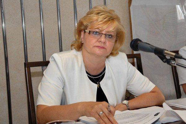 Iveta Kijevská. Starostka tvrdí, že na nový občasník má dobré ohlasy.