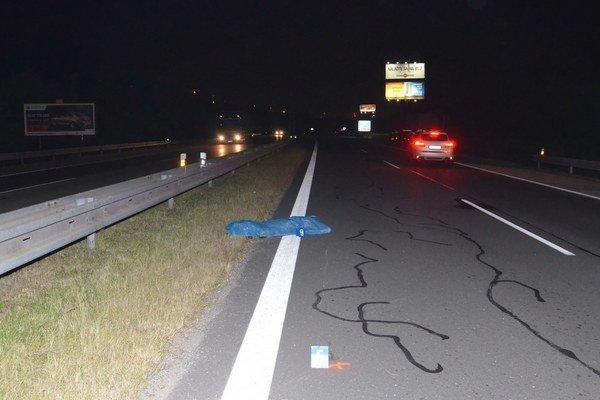 Tragická nehoda sa stala v stredu večer.
