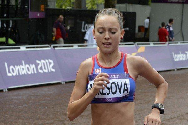 Katarína Berešová. Má za sebou vrchol sezóny.