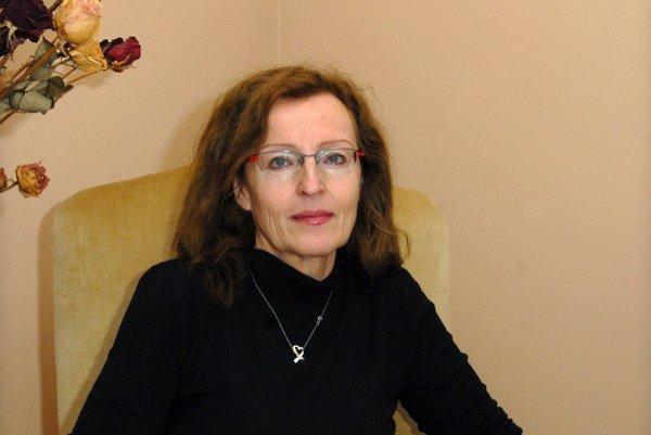 Danica Caisová. Psychiatrička  a sexuologička.