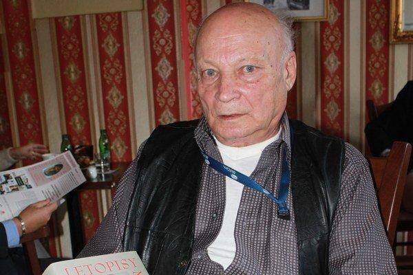 Tibor Ferko. Po monografii si musí vydýchnuť.