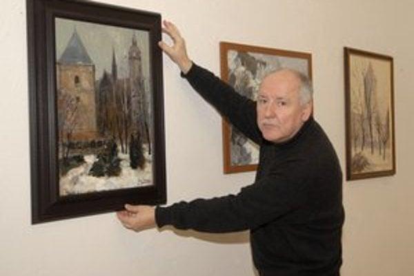 Rodák zo Spiša. Jozef Kravec oslavuje výstavou jubileum.