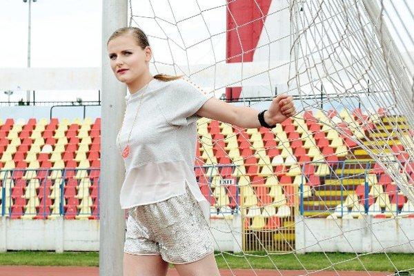Futbalistka Dominika Škorvánková