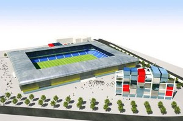 MFK má štúdiu štadióna. Uvažovali s kapacitou 15-tisíc, koľko to bude a odkiaľ na to vezmú, ešte nie je jasné.