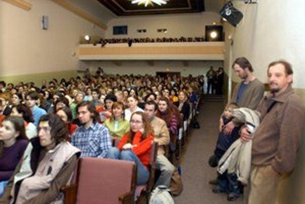 V Košiciach žal úspech. Febiofest u nás vypredával sály.