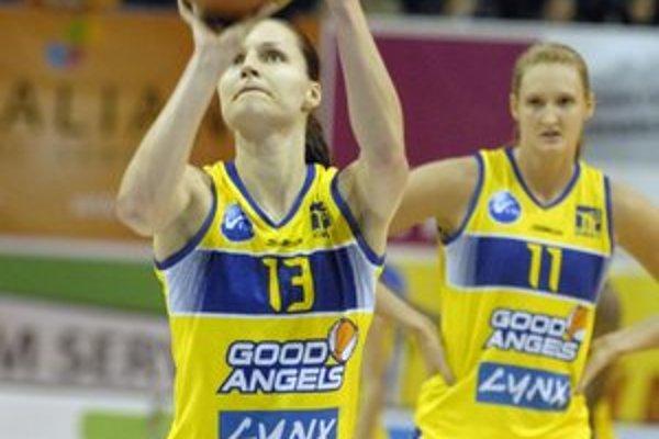 Postupový mečbal. Basketbalistky Good Angels môžu byť už v nedeľu v extraligovom finále.