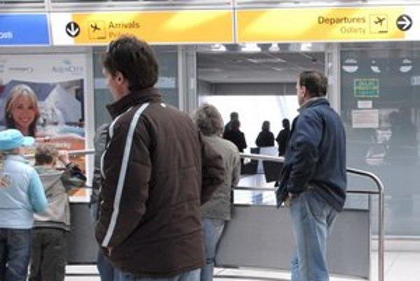 Košické letisko. Teraz odtiaľ pravidelne lietajú len do Bratislavy, Viedne a Prahy.